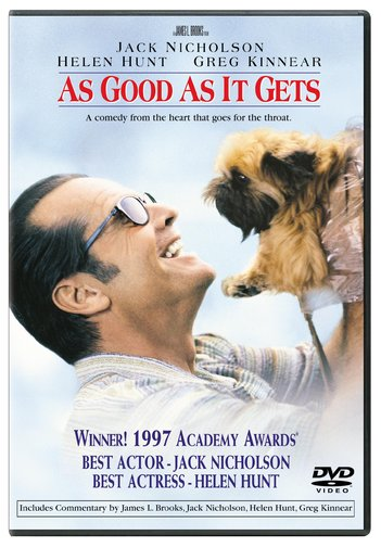 AS GOOD AS IT GETS BY NICHOLSON,JACK (DVD)
